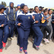 The team spirit of SA Navy was contagious at the BTG in Vredenburg