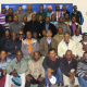 Traditional surgeons and initiation carers at the first aid training in Cape Town.