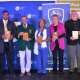 Various athletes received the Chairperson's special awards for their contributions to sport