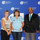 West Coast Netball Federation receiving funding from Minister Marais alongside Mayor Harold Cleophas.