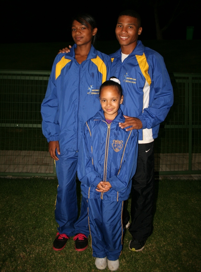 Tamzin Thomas, Nazley Losper and Keenan Michau all received ministerial bursaries for their performances at the Championships.