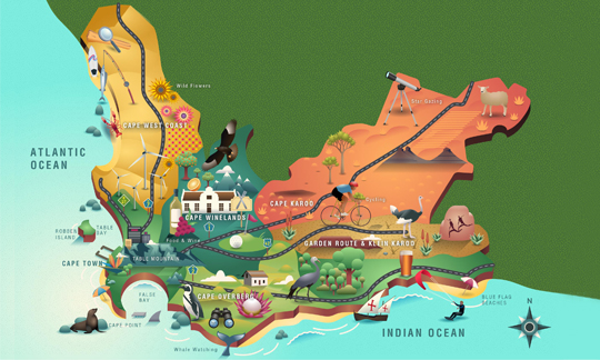 Cross Cape Map