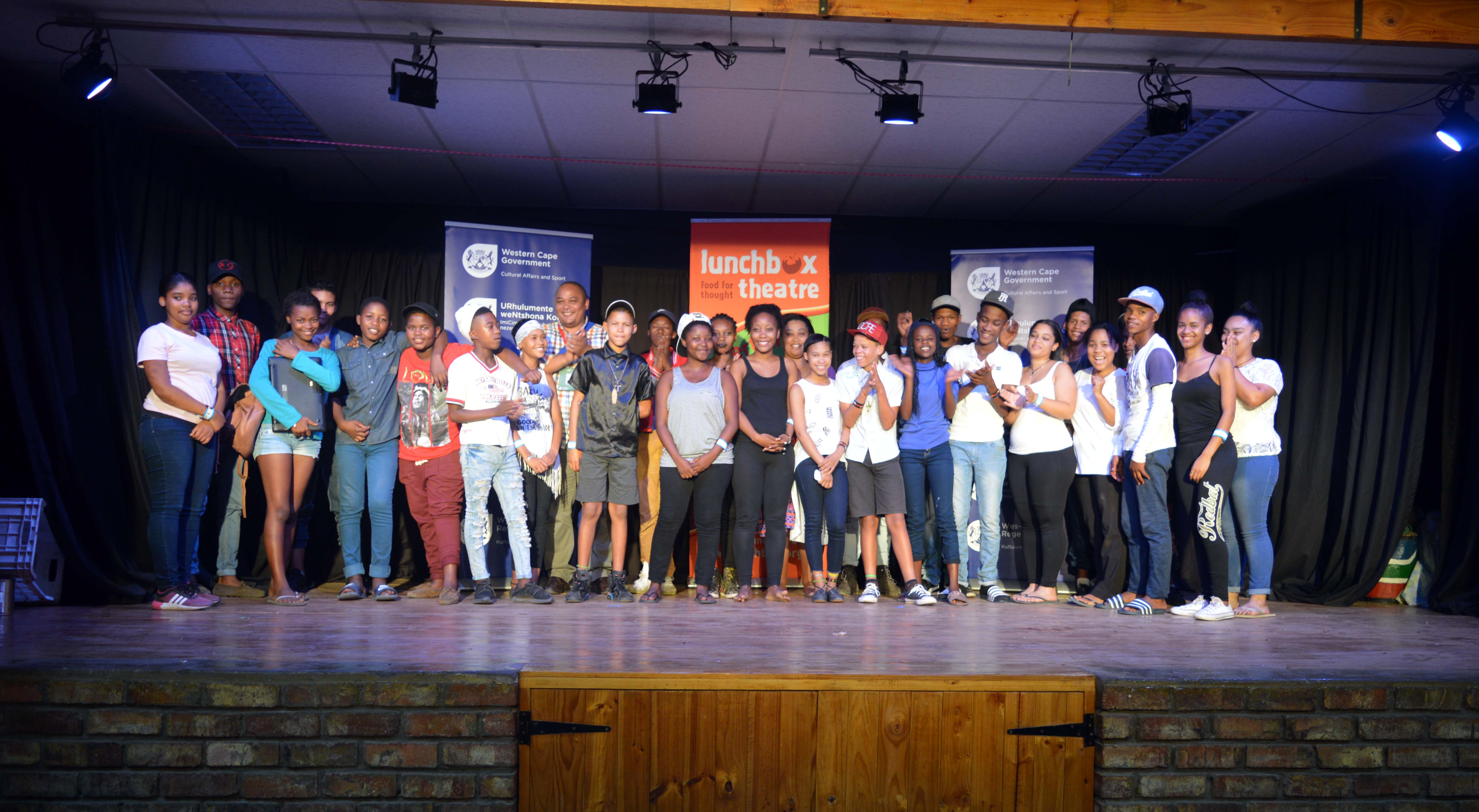 The Best of DCAS cast with Chief Director Guy Redman