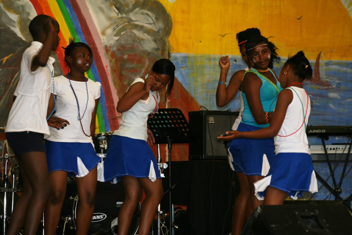 The cultural dancers from Laignville.