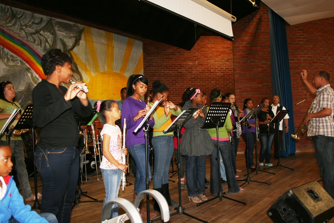 The musicians from Vredenburg.
