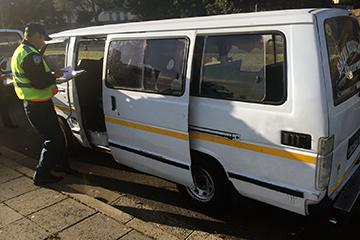 learner transport inspection