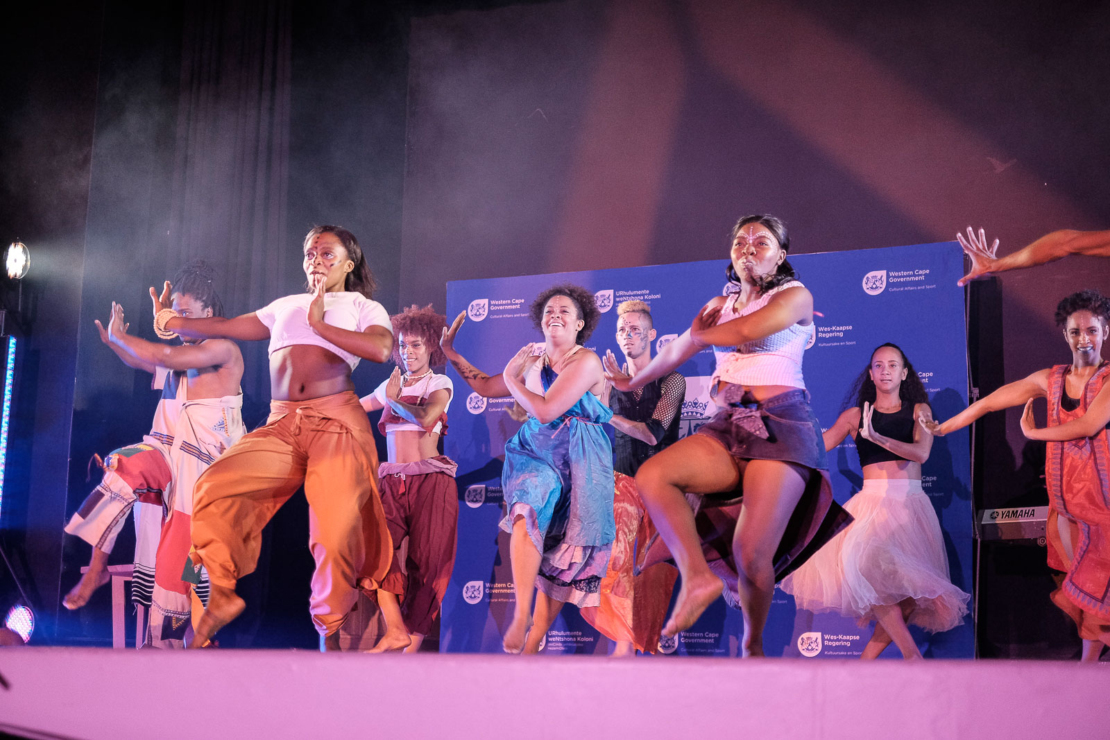 Various artists entertained the guests during the evening of the Cultural Affairs Awards Ceremony in Cape Town