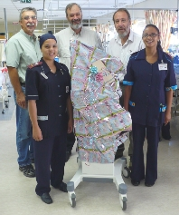 Red Cross War Memorial Children's Hospital Increases Capacity for Care With Six New Ventilators