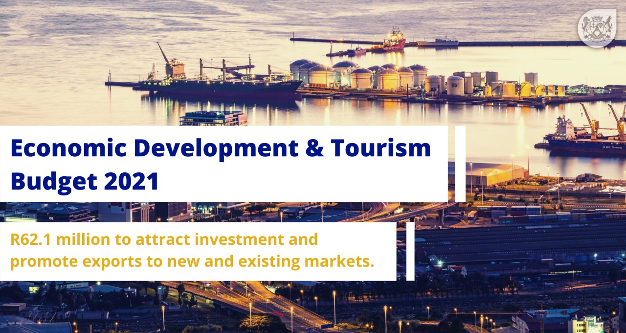 R62.1 million to attract investment and promote exports to new and existing markets
