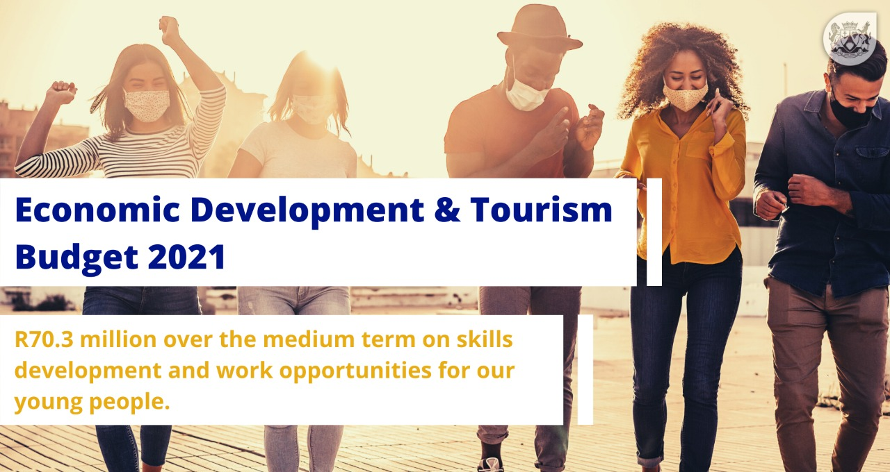 R70.3 million on skills development and work opportunities for our young people