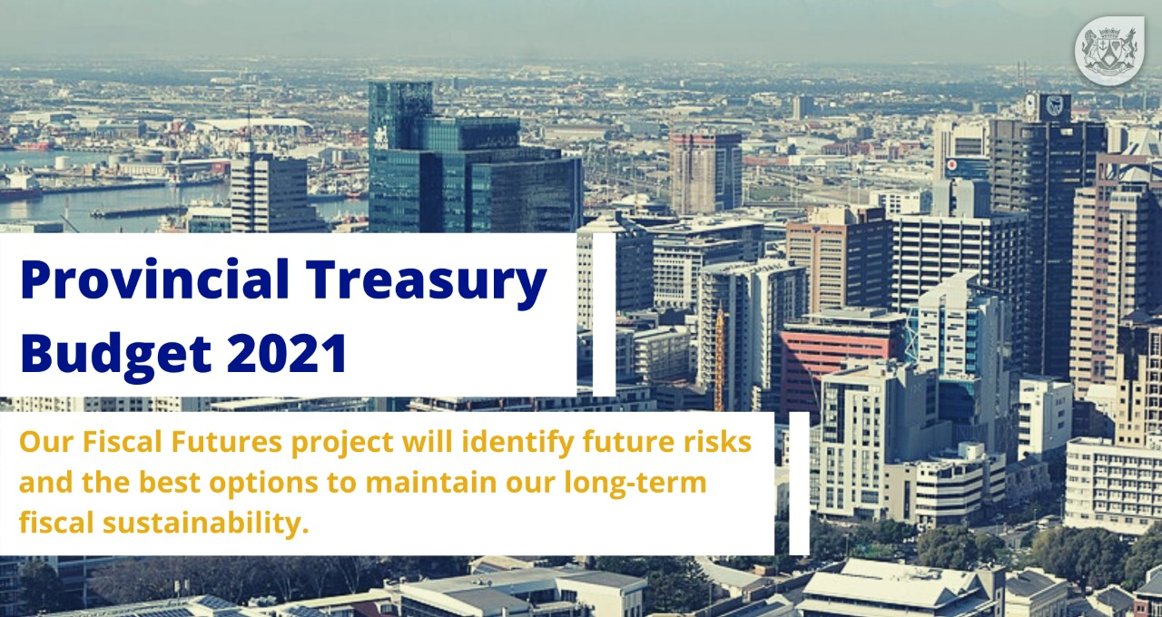 Our Fiscal Futures project will identify future risks and the best options to maintain our long-term fiscal sustainability.
