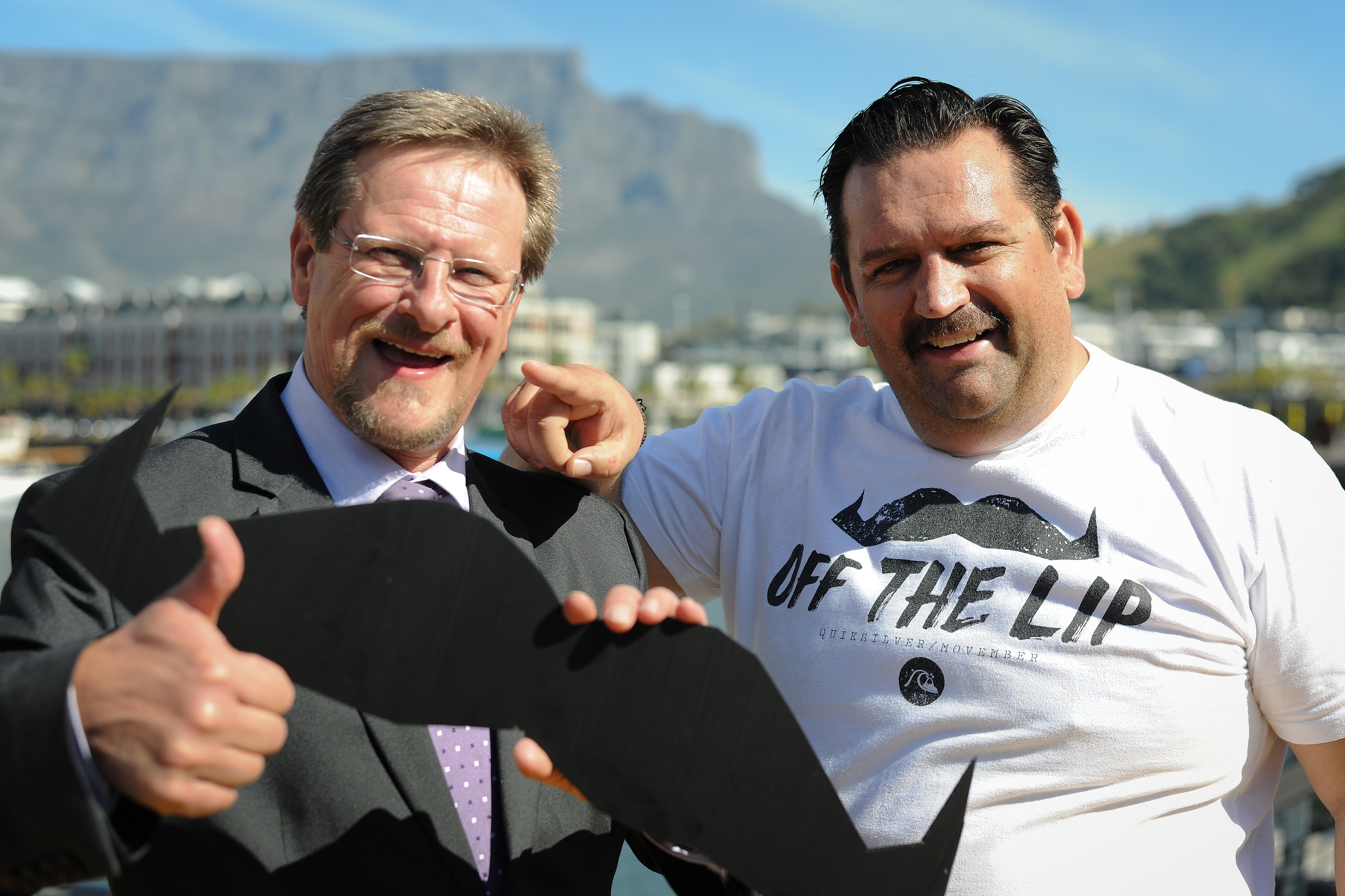 Movember 2014 Minister Theuns Botha