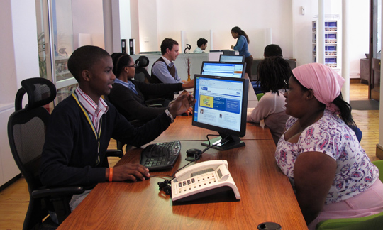 Western Cape Government contact centre