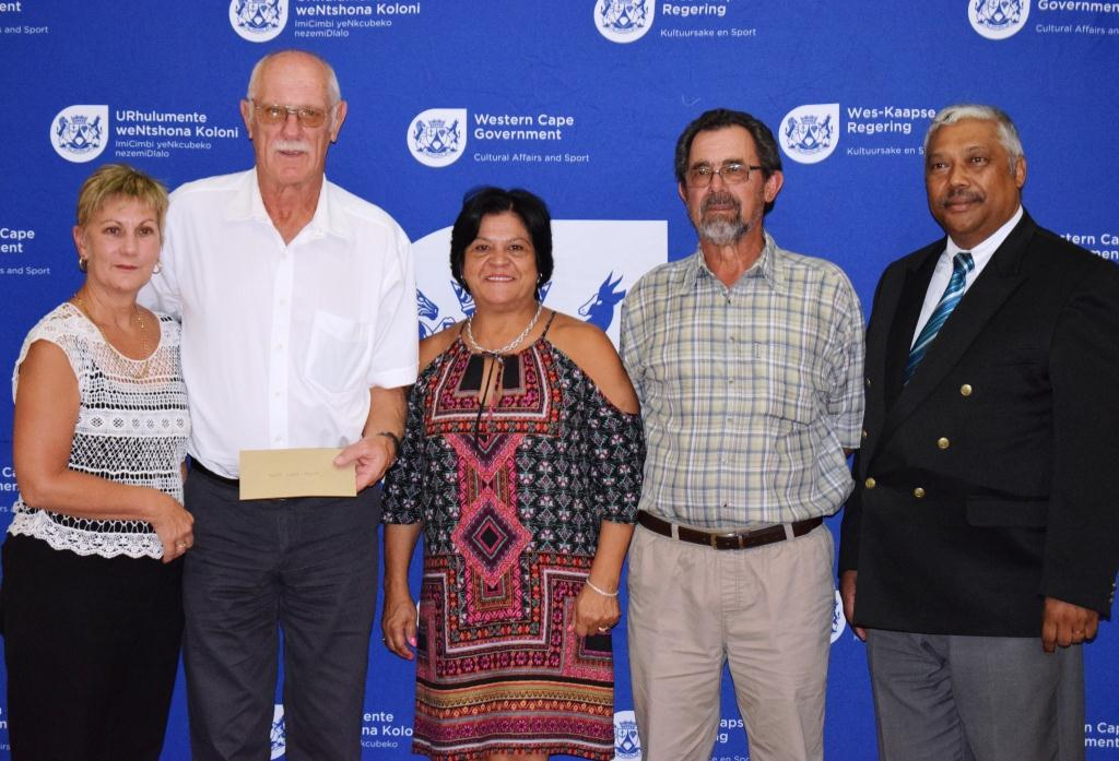West Coast Bowls Federation accepting funding from Minister Marais.