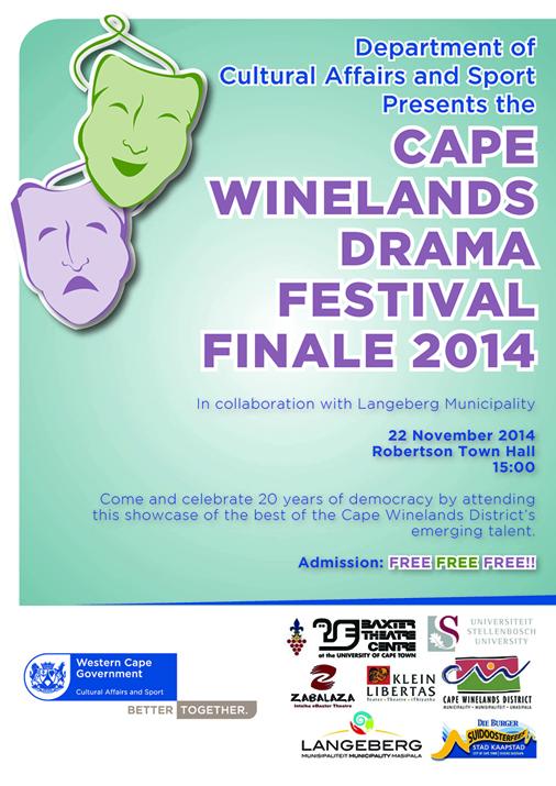 Cape Winelands Drama festival