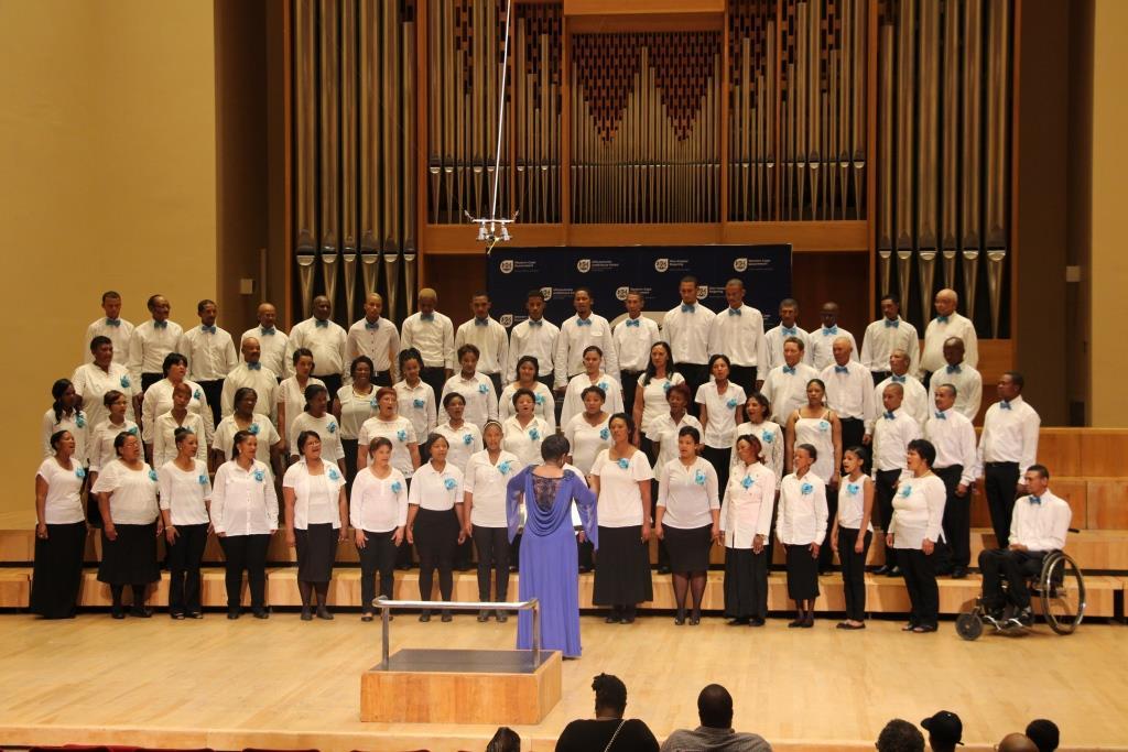 Witzenburg choir stirred emotions signing Ukuthula