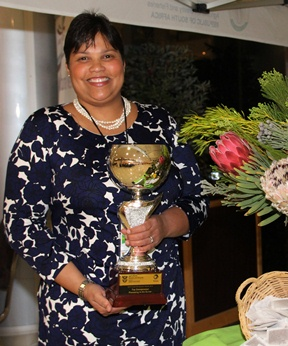 Ilse Ruthford, from Stellenbosch, won R250 000 when she was named one of South Africa's best female entrepreneurs in agriculture at a gala dinner on Friday, 22 August, in Mafikeng.