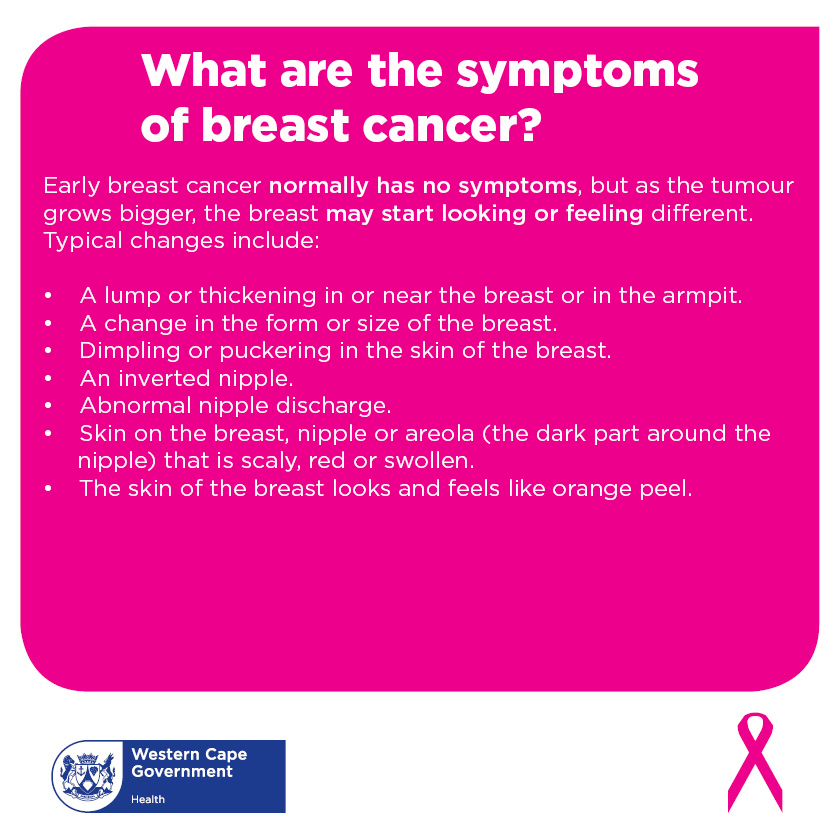 Breast Cancer Awareness Month Western Cape Government